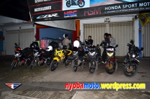 6 CS1 plus 1 unit old CBR150