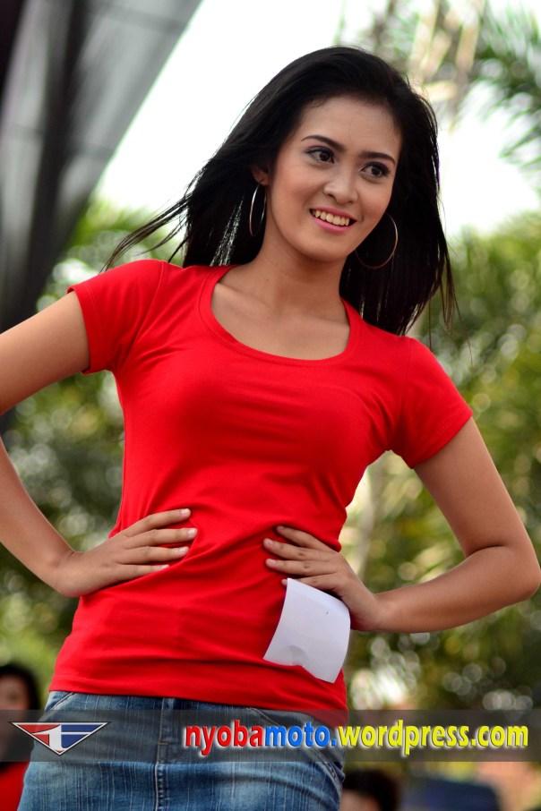 Salah satu Gacoan saya di Pemilihan Miss Honda 2011 ;-)