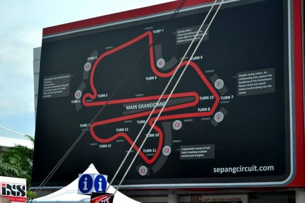 Ini map Sirkuit Sepang - 2 straightnya itu -