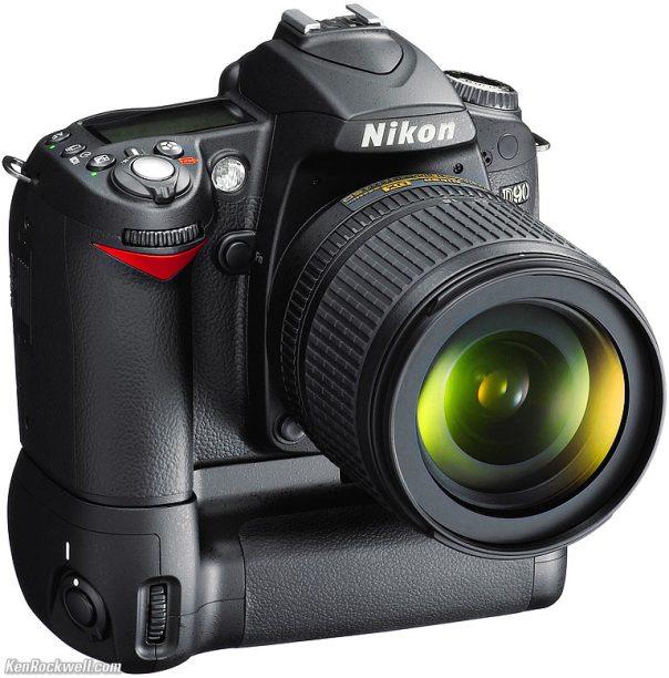 Nikon D90 plus BG