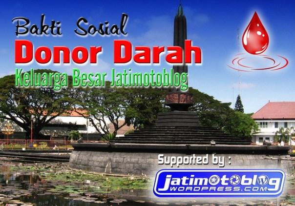 Baksos Donor Darah JatimOtoBlog Minggu, 14 Juni 2014 Di Mall Olympic Garden - Malang