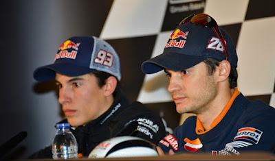 Tim Repsol Honda : Marc Marquez & Dani Pedrosa
