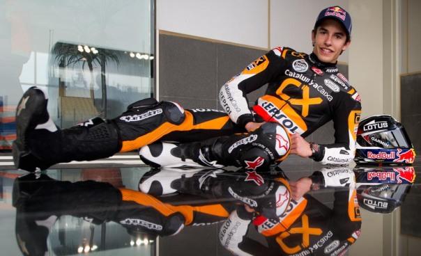 Marc Marquez Juara moto2 2012