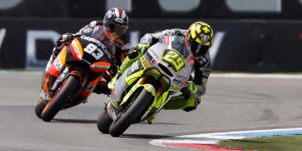Marquez saat mengintimidasi Ianone Dan balapan dimenangkan Marquez