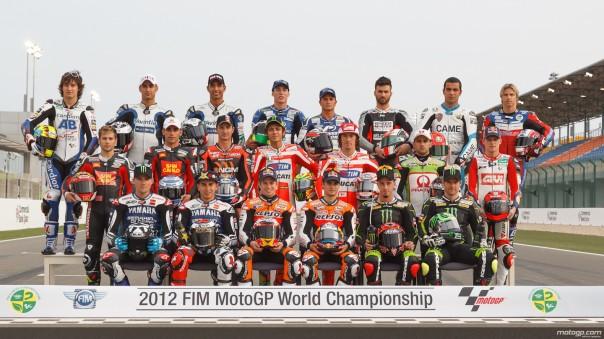 Jajaran Pebalap motoGP2012, yang di polling