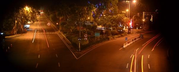 Surabaya lumayan Lengang