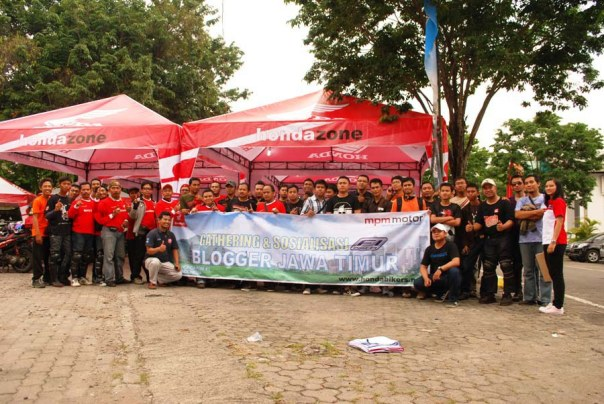 Test Ride plus Gathering Blogger Jatimotoblog