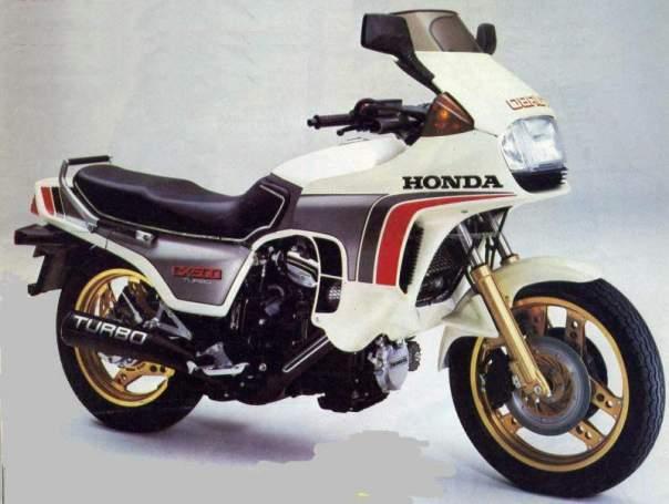 Honda CX500 Turbo, tahun 1981