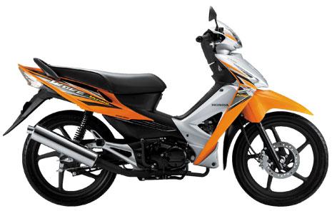 Honda Wave 125i Thailand = Supra X 125 FI