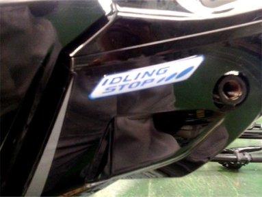 Stiker Idling Stop
