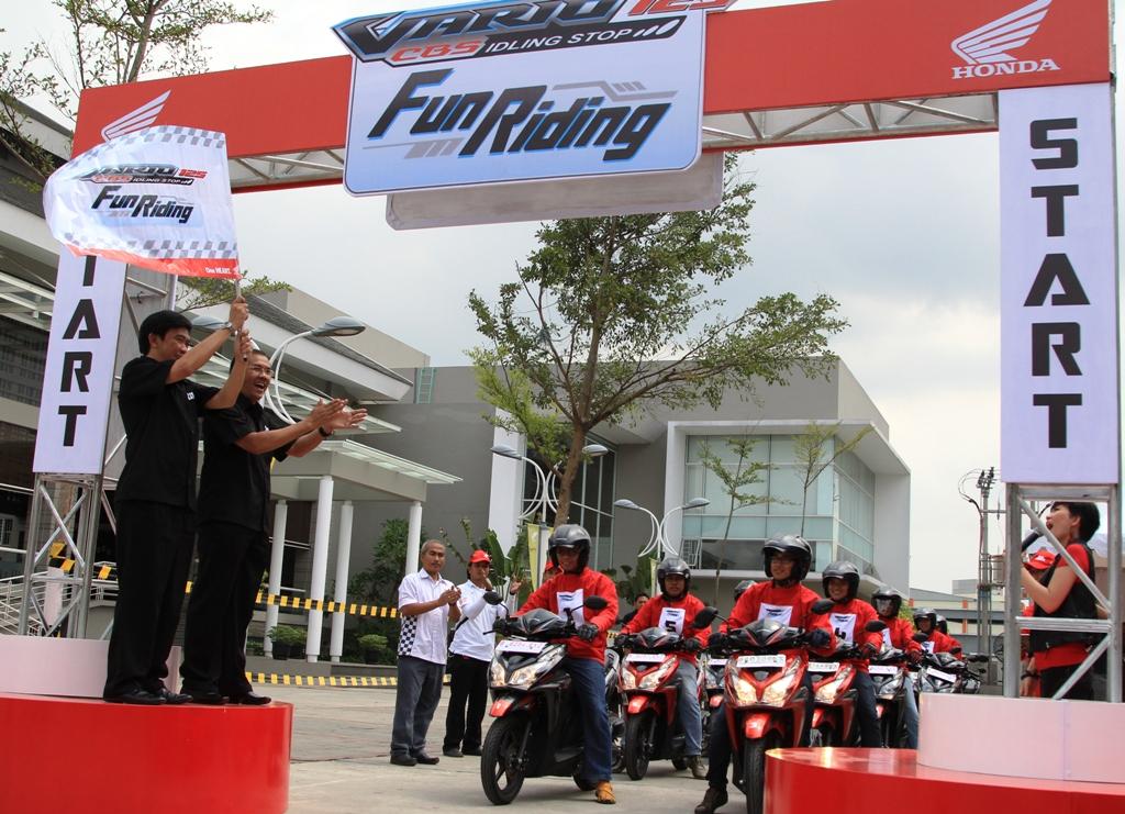 Fitur Idling Stop System, Honda Vario Catat Konsumsi BBM 76,1 km/liter