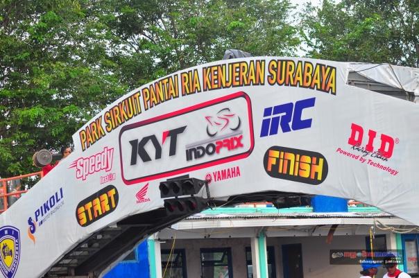 Indoprix Seri 3 di Kenjeran Park Surabaya
