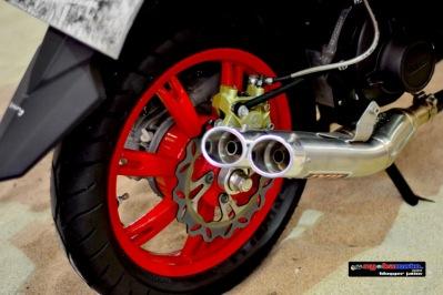 X Ride_Roda belakang