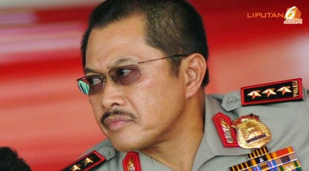 Wakapolri Nanan Sukarna