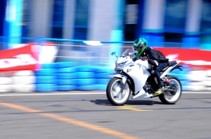Honda CB150r_Sirkuit Kenjeran CBR