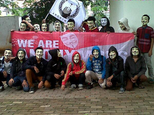 Hacker Anonymous Indonesia