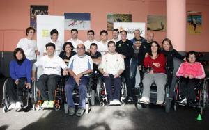 Marc Bersama Alex Criville dan Carlos Checa Diantara penyandang cacat