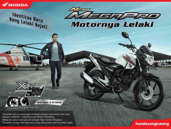 Honda New Mega Pro Iklan