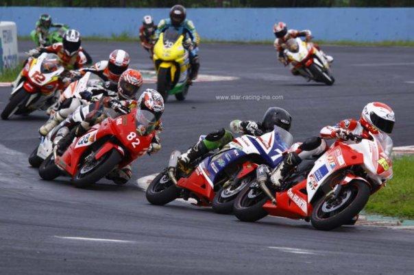 Kejurnas IRS 250cc CBR250R Ninja 250R Sentul