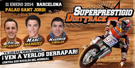 Marc Marquez - Superprestigio Dirt Track -