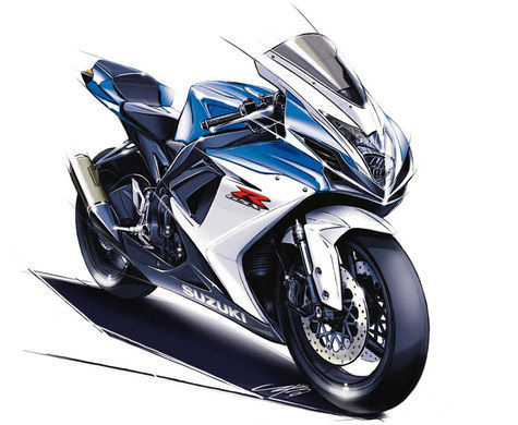 Olah Digital Terawangan Motor Sport Suzuki