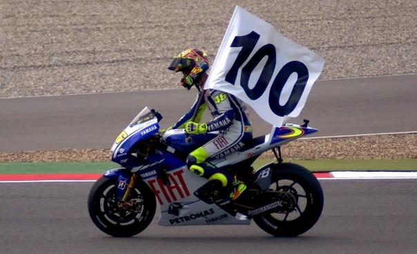 Victory Lap ke 100