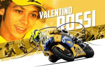 Rossi Yamaha M1 Camel