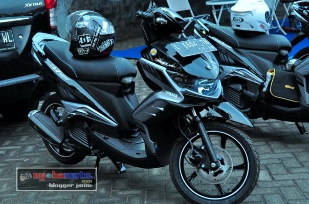 Yamaha GT125_hitam silver