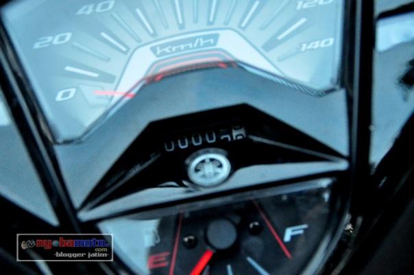Yamaha GT125_speedometer