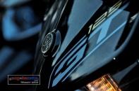 Yamaha GT125_Warna Hitam Depan Samping