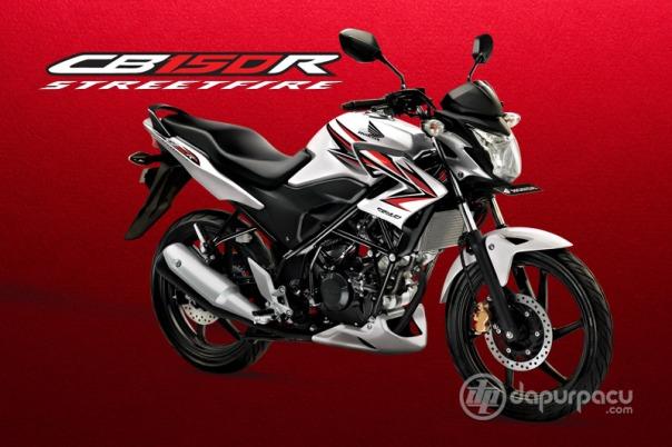 Honda CB150R Indonesia White Red