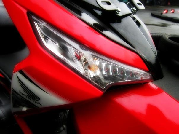 Honda Supra X 125 FI 2014_Sisi Depan