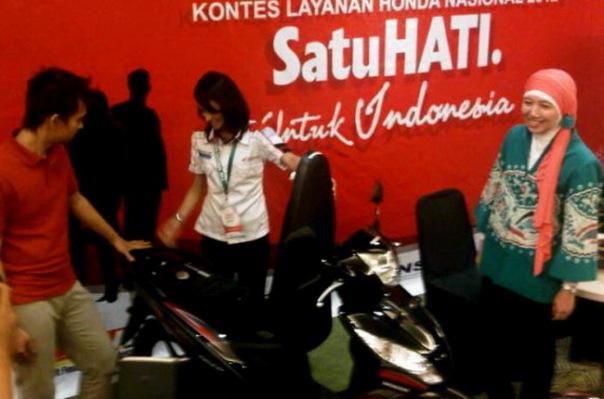 Kontes Layanan Konsumen Honda 1