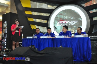 Press Conference GT125 Eagle Eye Royal Surabaya 01