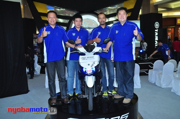 Sesaat setelah Press Conferencce Yamaha GT125 Eagle Eye