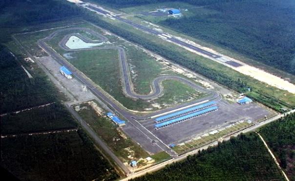 Sirkuit Skyland Musi Banyuasin Sumatra Selatan