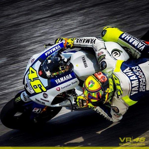 Valentino Rossi Sepang 2014