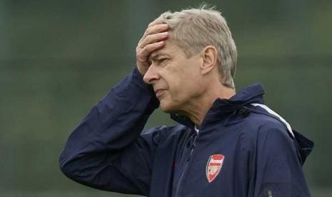 Arsene Wenger Kecewa