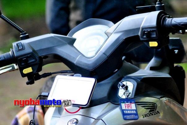 Juga terpasang di CS1 Mensuplay power GPS