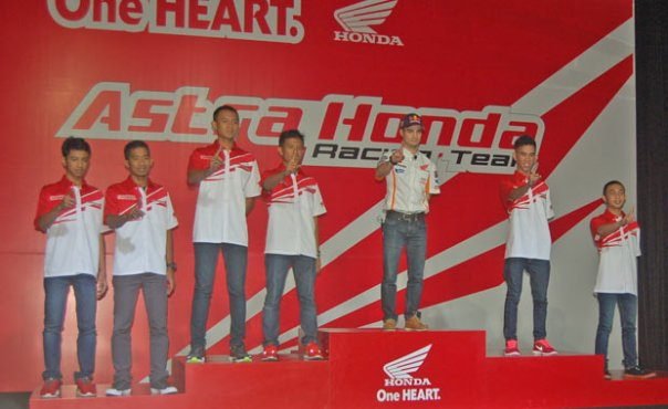 Dani Pedrosa dan Pebalap Honda Indonesia