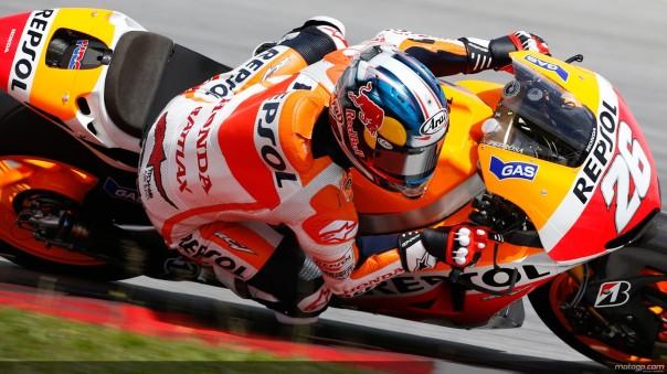 Dani Pedrosa MotoGP 2013 Full HD Wallpaper