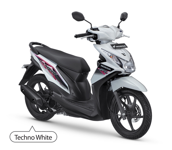 Honda Beat FI CW Techno White