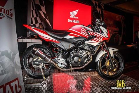 Honda CB150 Streetfire Race Edition