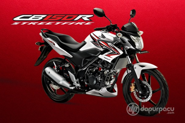 Honda CB150R Indonesia White Red