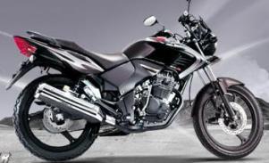 Honda Tiger Revo Black