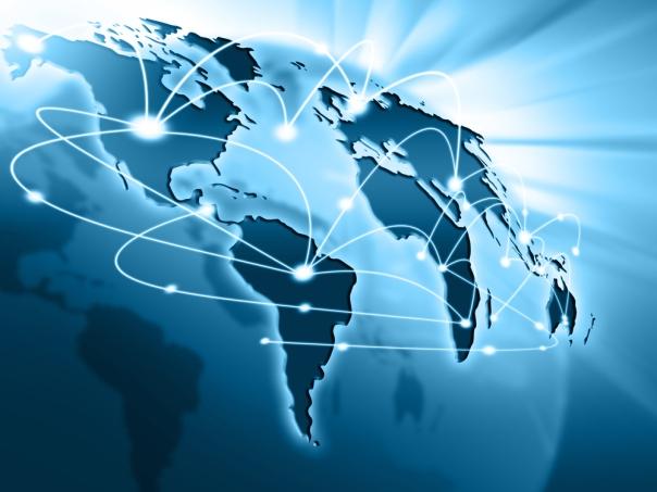 Dunia terhubung internet
