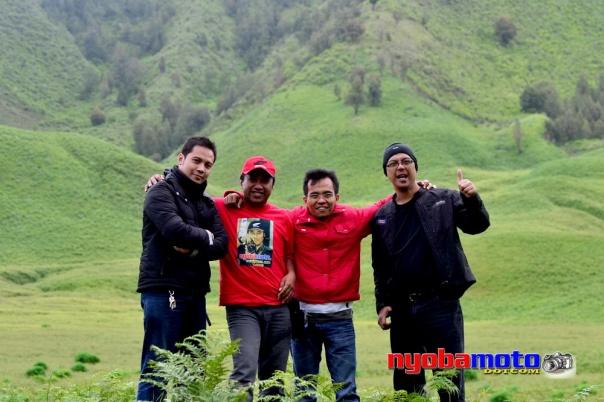 Kang IWB, Wiro, Mas Haji Taufik & Pak Stephen Langitan