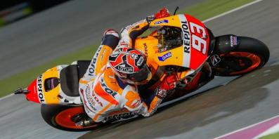 Marc Marquez Pole Position Losail Qatar 2014