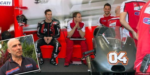Open Class Ducati Happy Livio Suppo Kecewa