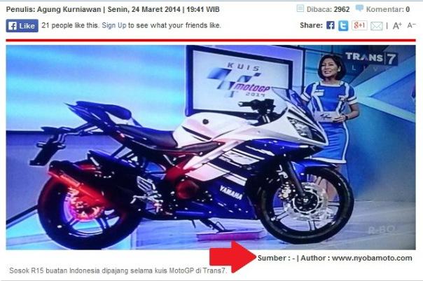 Print Screen dari Otomotif.Kompas.com Author : www.nyobamoto.com :)